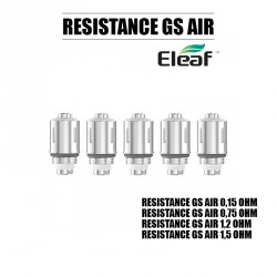 Pack de 5 résistance GS AIR - Eleaf