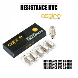 Pack de 5 Résistances BVC - Aspire