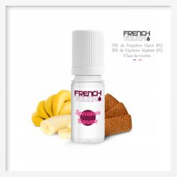 E-liquide French Touch Speculos Banane