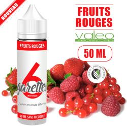 E-liquide FRUITS ROUGES - de 50 à 100 ML