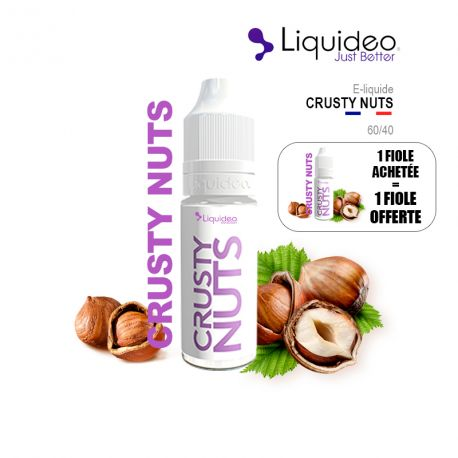E-Liquide CRUSTY NUTS - Liquideo