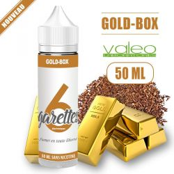 E-liquide GOLD BOX - de 50 à 100 ML