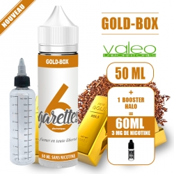 PACK GOLD-BOX PRET A VAPER