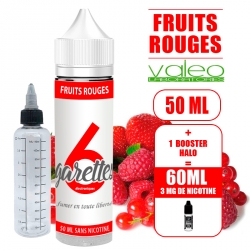 PACK FRUITS ROUGES PRET A VAPER