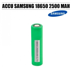 Accu Samsung 18650 2500 mAh 25R Lithium Ion Rechargeable