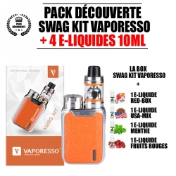 kit Découverte Swag NRG SE Orange- Vaporesso