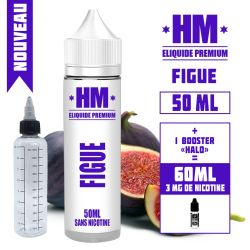 E-liquide FIGUE  - HM - de 60 à 100 ML