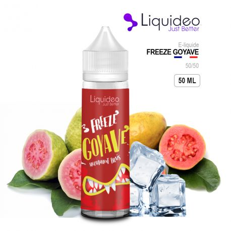 E-Liquide 50 ML FREEZE GOYAVE - Liquideo