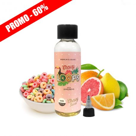 E liquide pas cher CHEWY LOOPS 50 ML