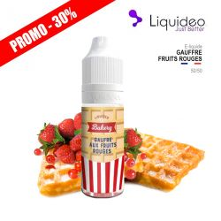 E-Liquide GAUFRE FRUITS ROUGES - Liquideo