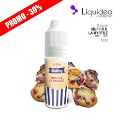 E-Liquide MUFFIN MYRTILLE - Liquideo
