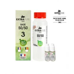 PACK 140ML 50/50 - 3MG - EXTRAPURE
