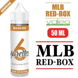 E-liquide MLB RED-BOX - de 50 à 100 ML
